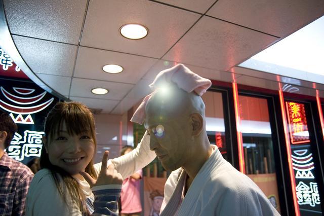 ちゅる。名古屋でアイドル応援11年白い袴で10年経ちます