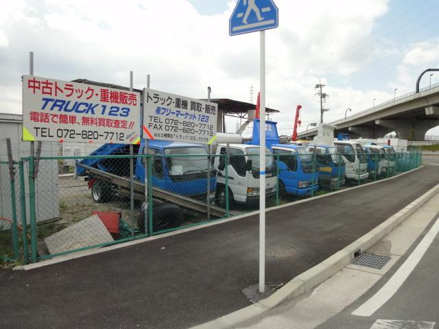 中古トラック販売TRUCK123