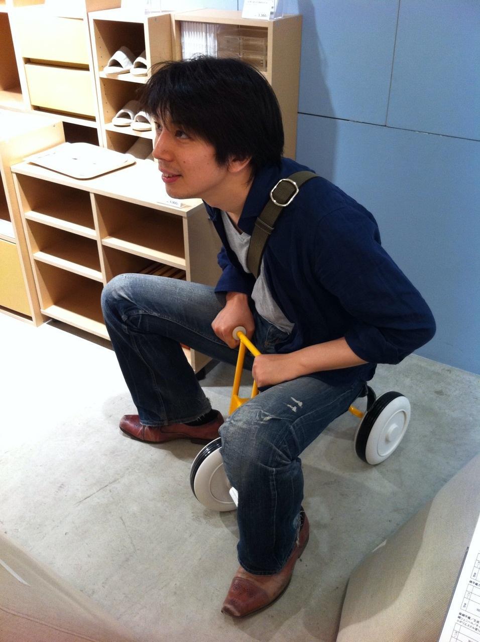 コーチング三輪車