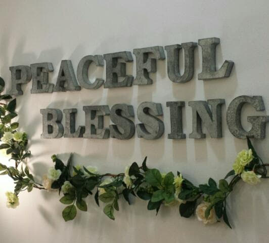 peaceful blessing