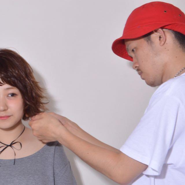 美容師 森翔矢さん
