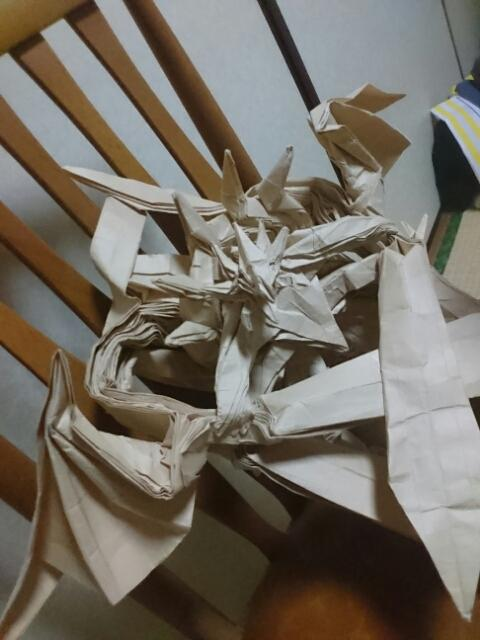 ハート 折り紙:折り紙 龍神 折り方-ameblo.jp
