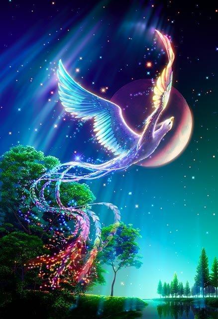 Rising Brave Phoenix