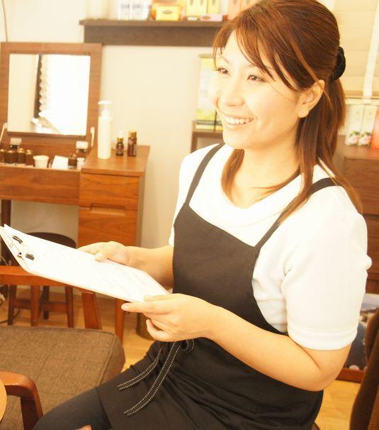 徳島・板野郡の女性専用アロマエステサロン:竹内静香
