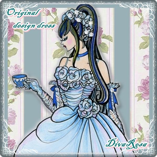 ドレスの館DIVAROSA「薔薇の歌姫」