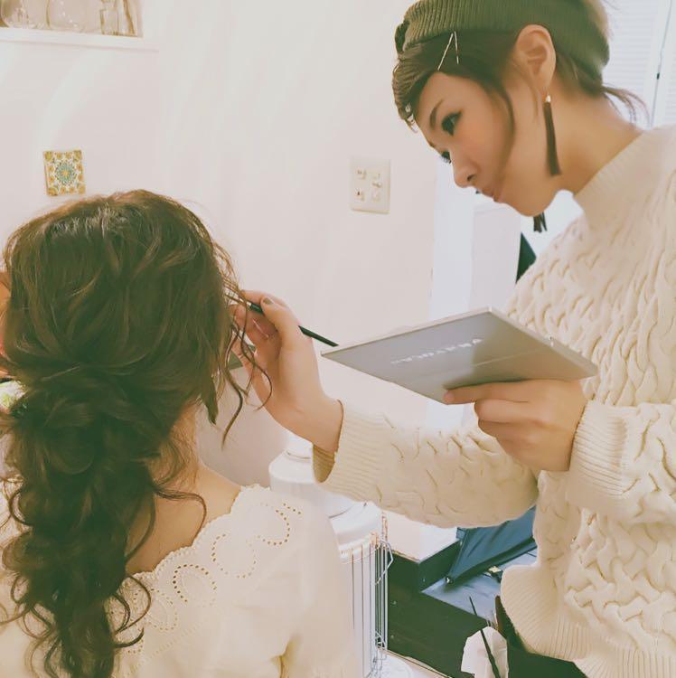 Megumi* Hair make *