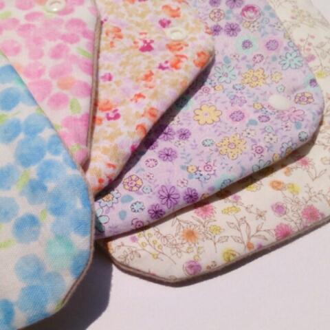 「ラベンダー」布ナプキン等、女性のための布小物