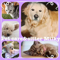 Pet care&sitter Milkyのプロフィール