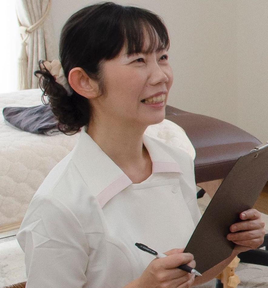 京都・奈良 深刻な冷え肩こり解消専門 セラピスト 玉置美佐子