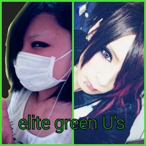 恋椰✡緑だけ(*´―`)♡