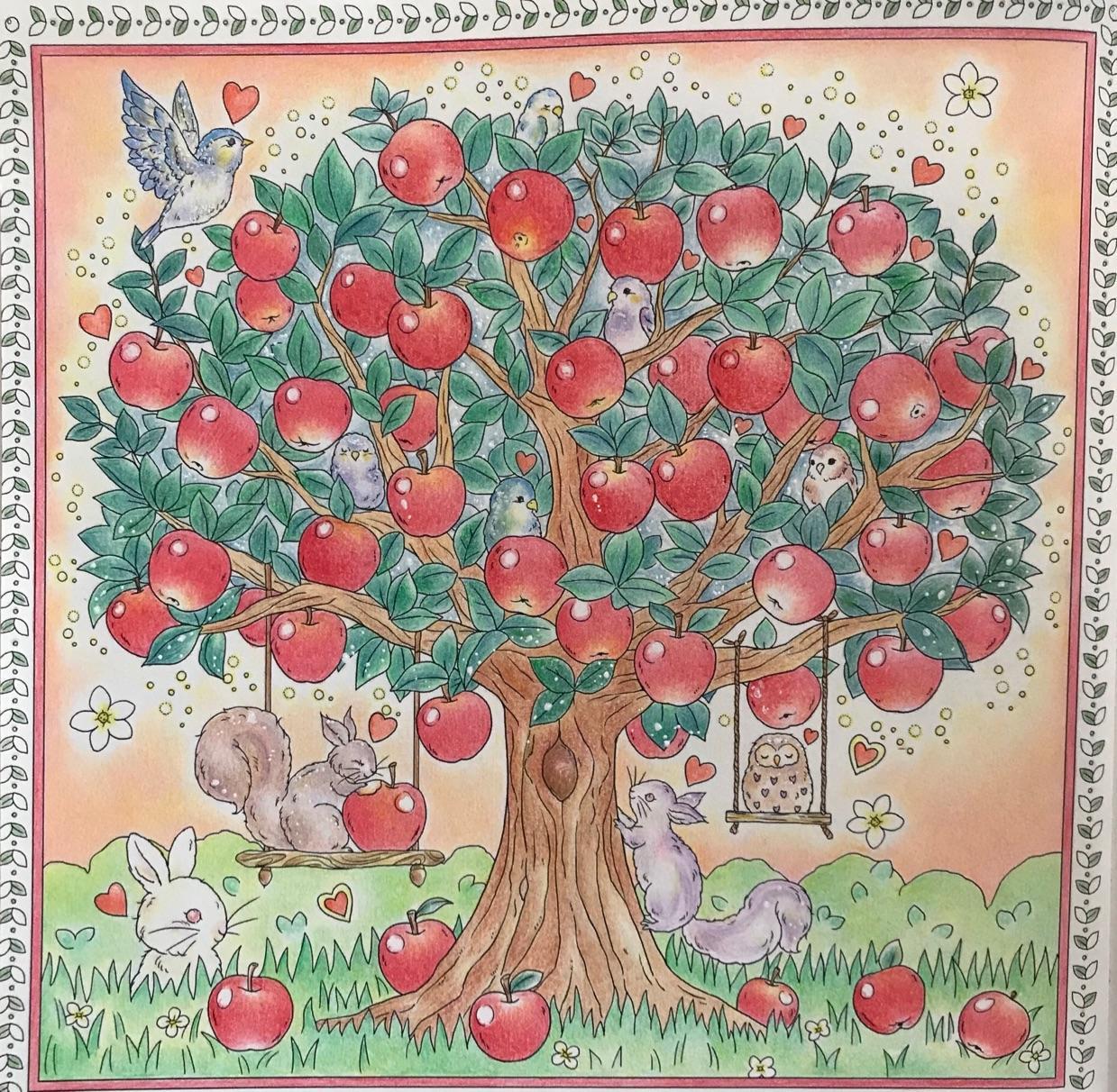 コロリアージュ137 気ままにコロリアージュ 大人の塗り絵と子育て日記