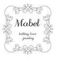 Mabel-tatting lace jewelry-のプロフィール