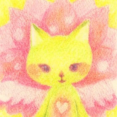 あなたは猫天使👼絵描きの『リリネコ』