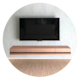 フロートテレビボード開発デザイナー